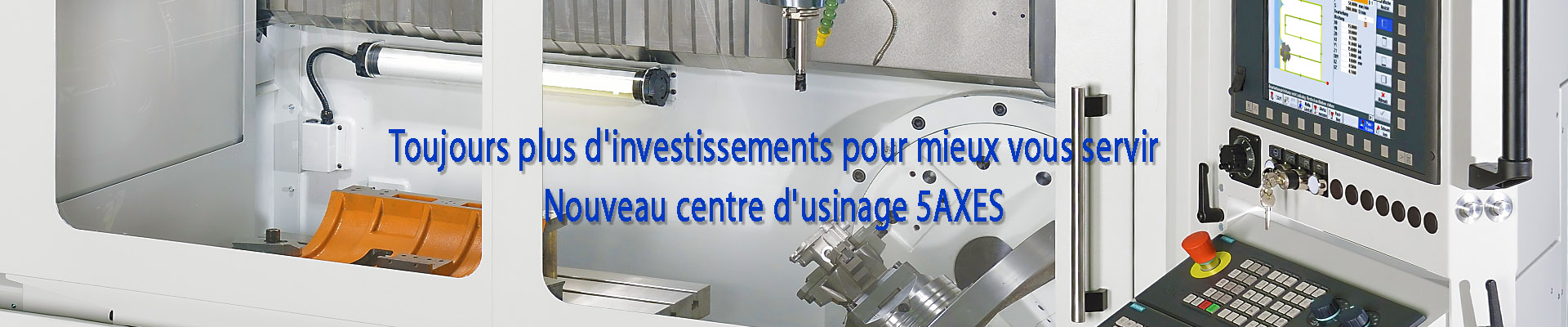nouveau centre d'usinage 5 axes sermab 21